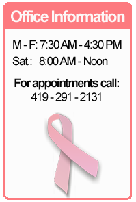 toledo radiological associates breast imaging office information