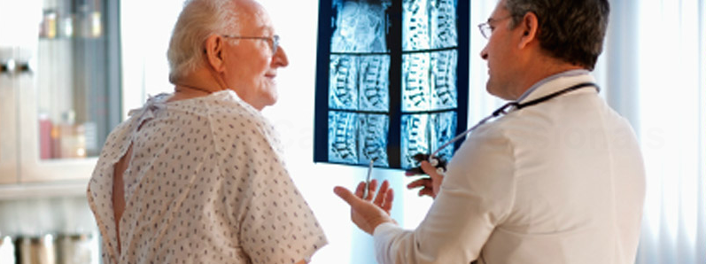 Doctor consultations with patients, radiology